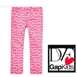 COPY - DVF For Gap Pink Capri Jeans